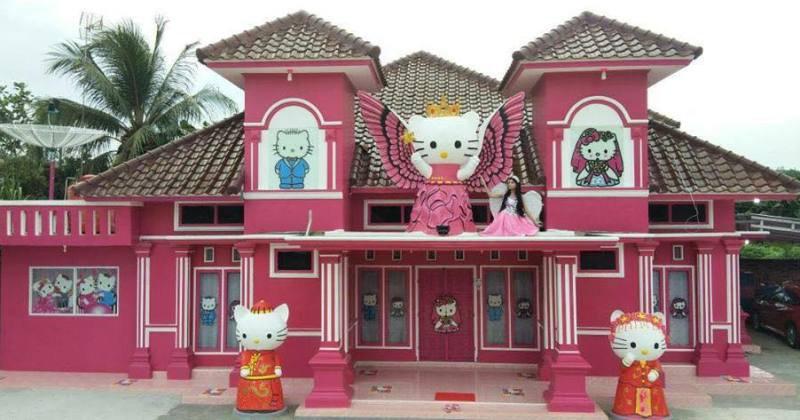 Hello kitty house design