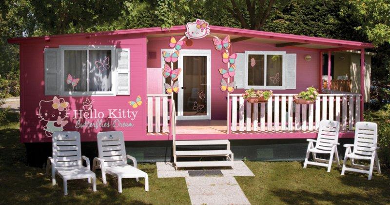 Hello kitty house paint ideas