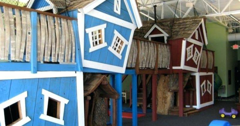 Indoor treehouse ideas
