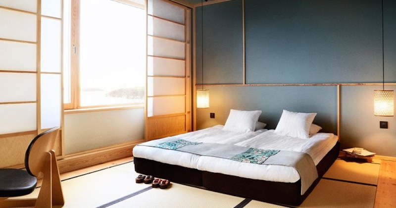 Japan small bedroom design