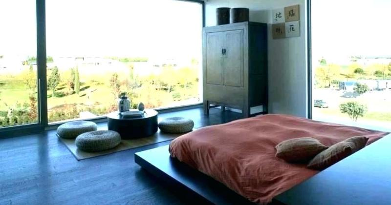 Japanese bedroom style