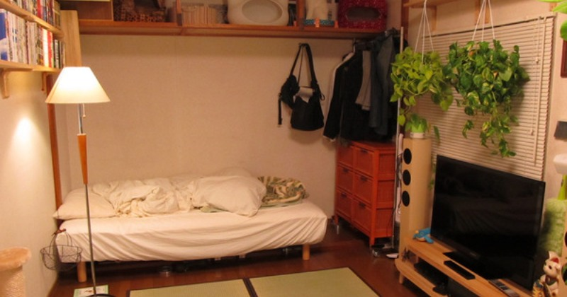 Japanese small bedroom