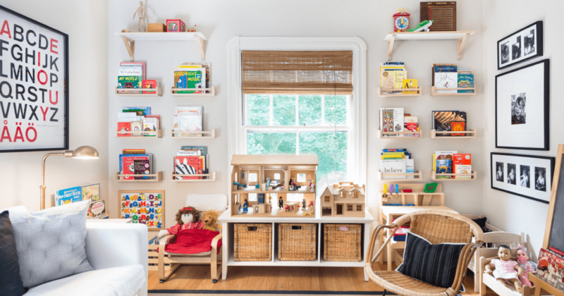 Kids' room design for living