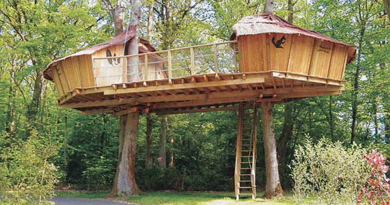 Kids Tree House Plans