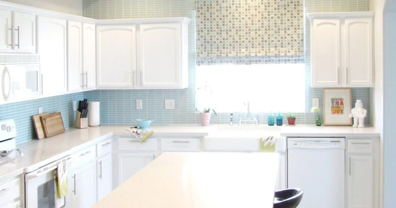 Laminate countertops without backsplash