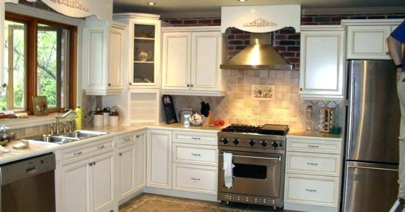 Laminate kitchen countertops without backsplash
