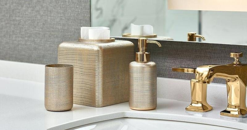 Luxury bathroom accessories sale
