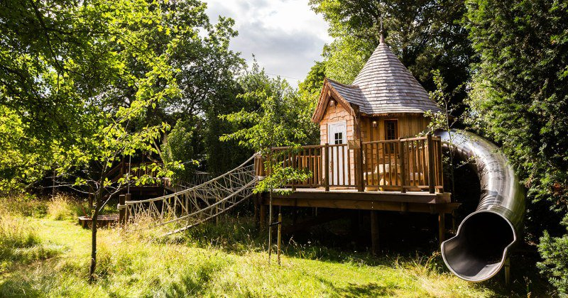 Luxury tree house builders