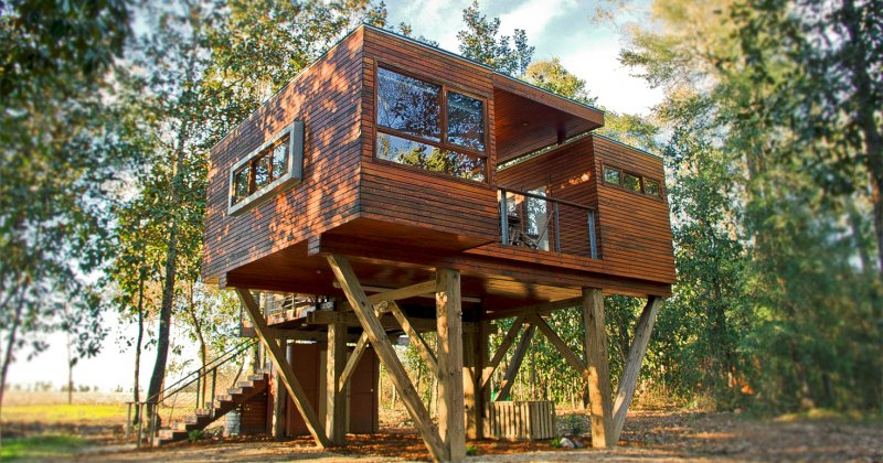 Luxury tree house milton fl