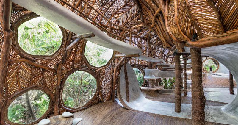 Luxury tree house tulum