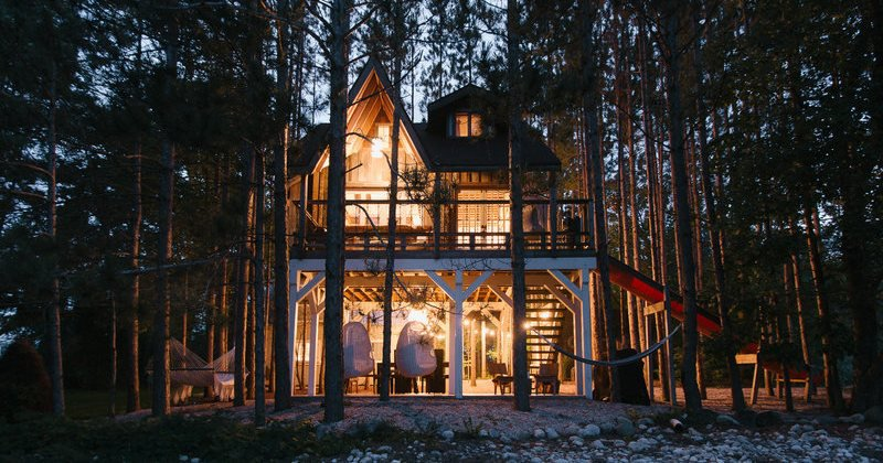 Luxury tree house vacation rentals