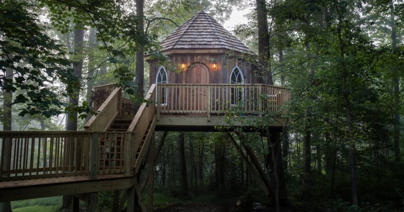 Luxury tree houses ohio