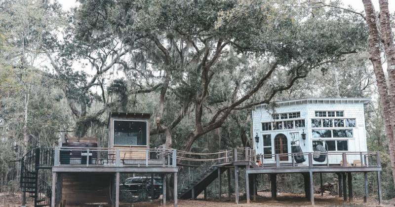 Luxury treehouse charleston sc