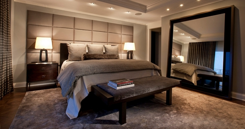 Masculine bedroom decorating ideas