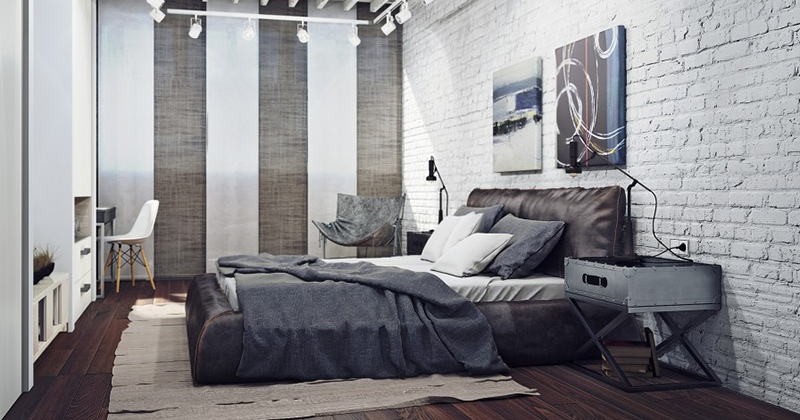 Masculine bedroom decorations