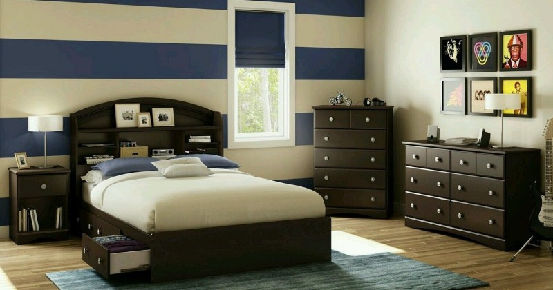 Masculine bedroom paint ideas