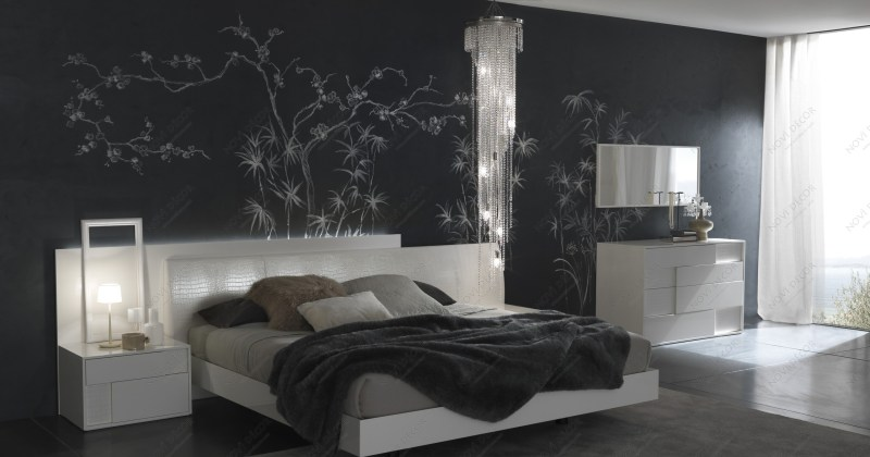 Masculine bedroom wallpaper ideas