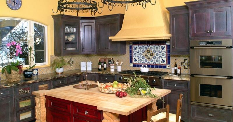 Mediterranean kitchen style