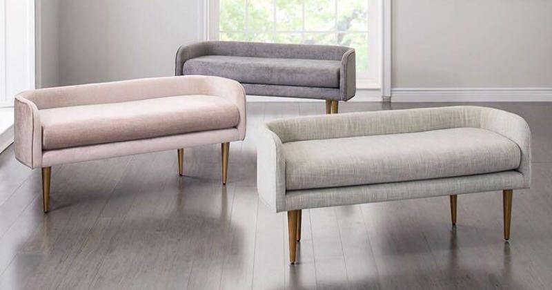 Mini sofa bench