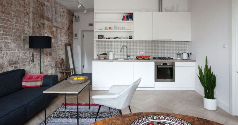 Minimalist design small apartment