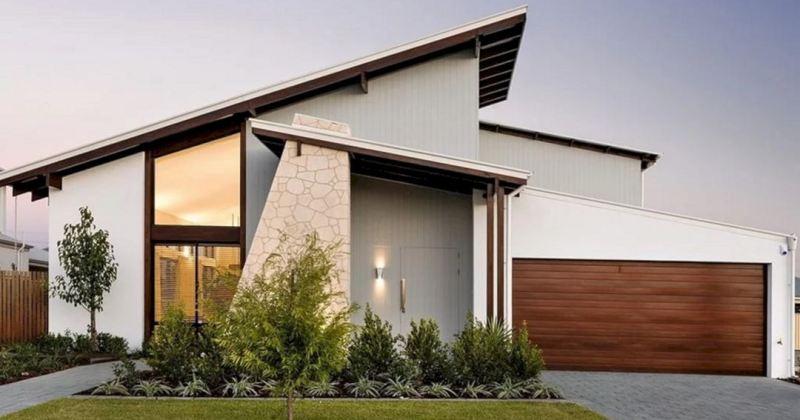 Minimalist home exterior