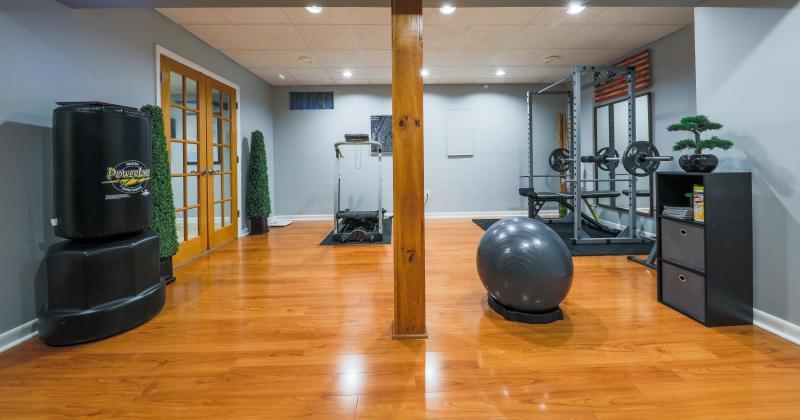 Minimalist home gym