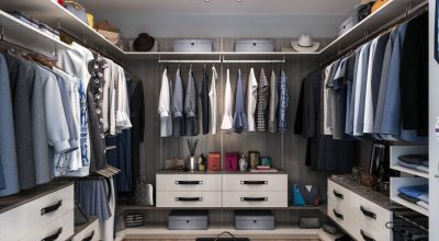 Modern Closet Drawers Design