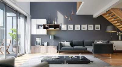 Modern Home Shades Gray