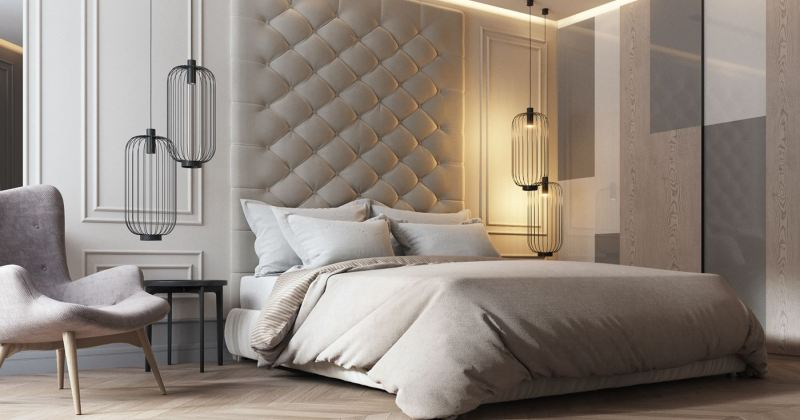 Modern classic bedroom design