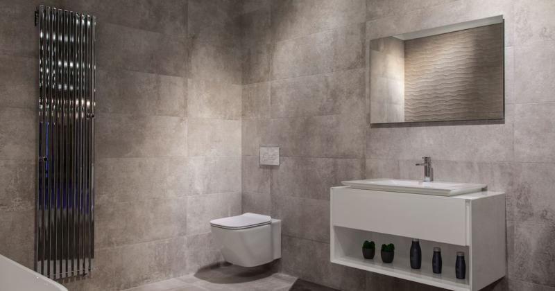 Modern clean bathroom design ideas