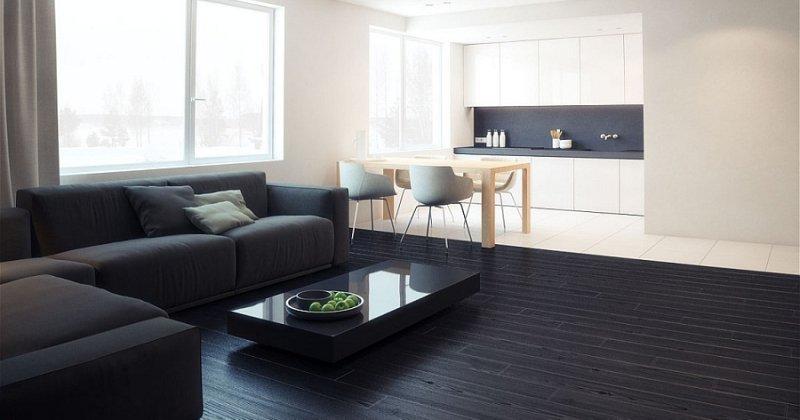 Modern minimal apartment