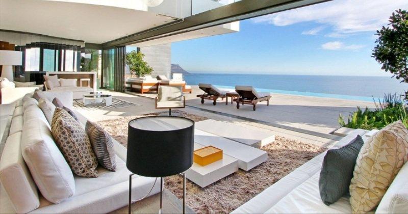 Modern minimalist luxury sea view apartment