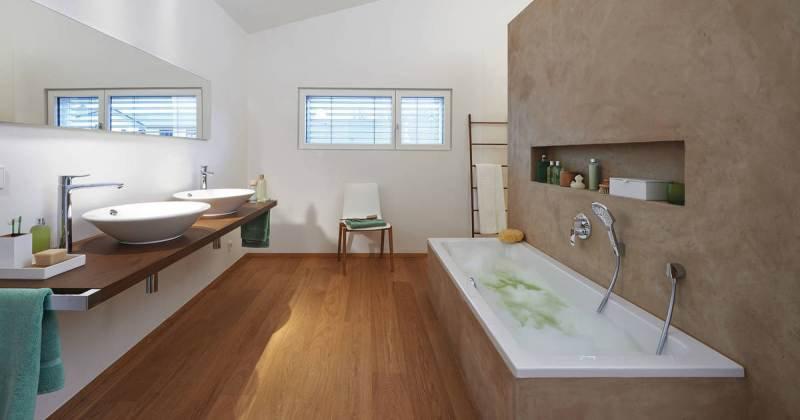 Modern scandinavian bathroom design