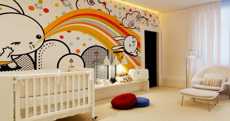Nursery design colour