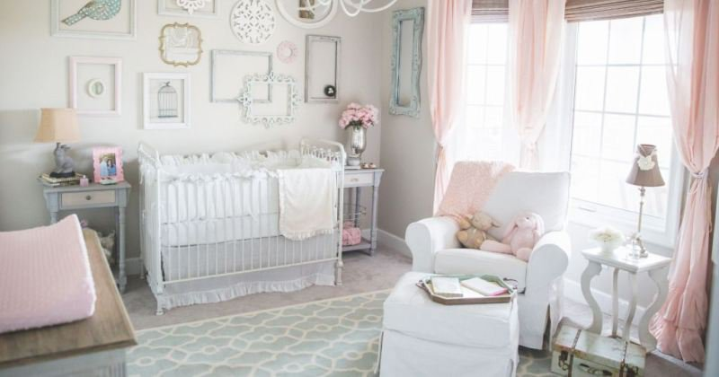 Nursery design girl