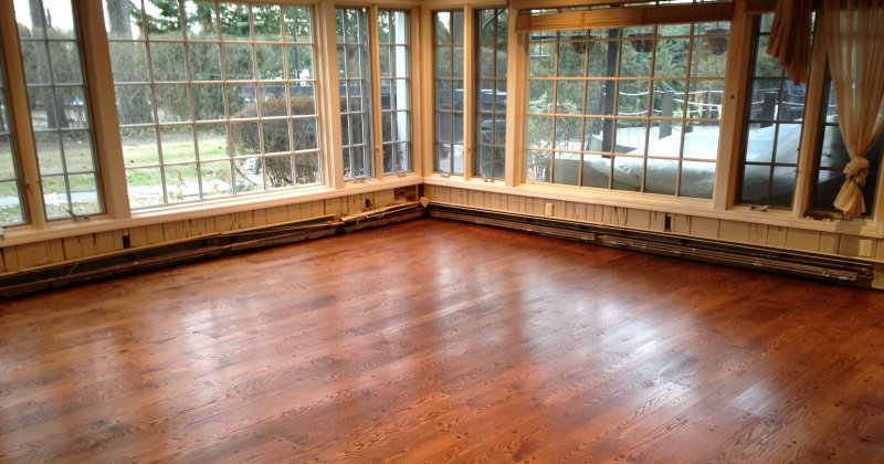 Old red oak flooring