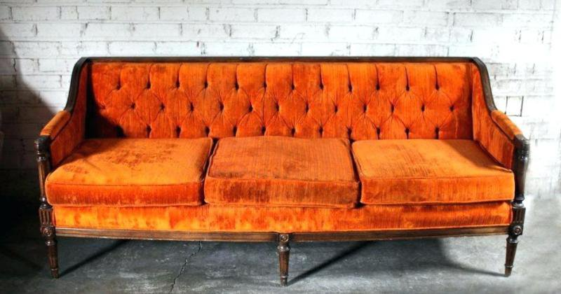 Orange sofas for sale