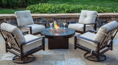 Outdoor Fire pit Tables with Chairs