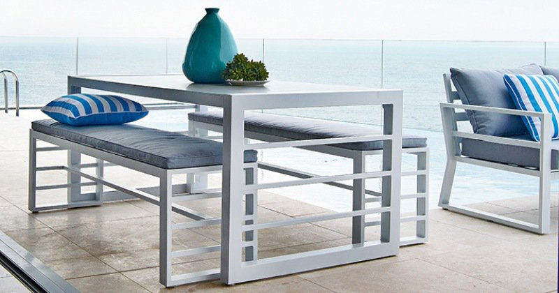 Outdoor dining bench set australia