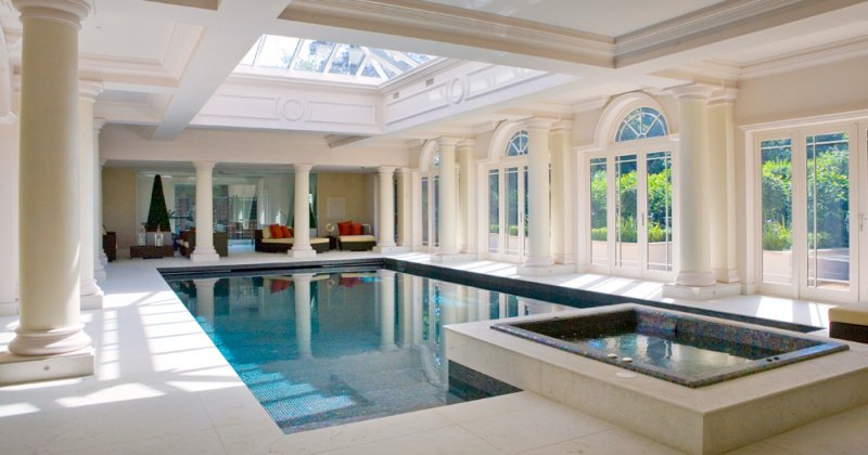 Pool house designs interior