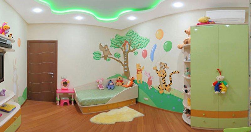 Pop design for children's room
