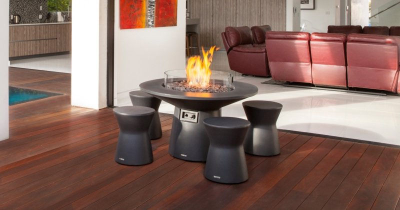Portable outdoor fireplace australia