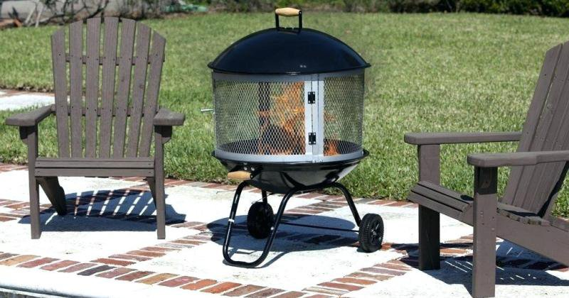 Portable outdoor fireplace home depot