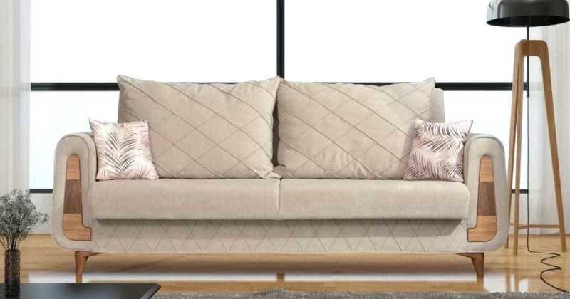 Pottery barn mini sofa