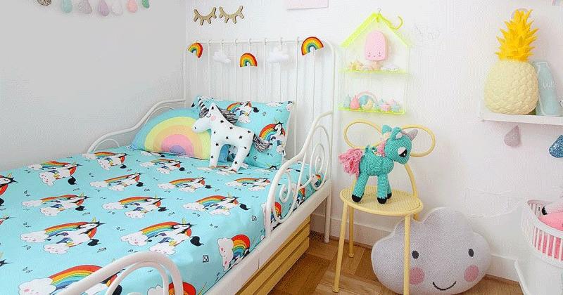 Rainbow Kids Bedroom