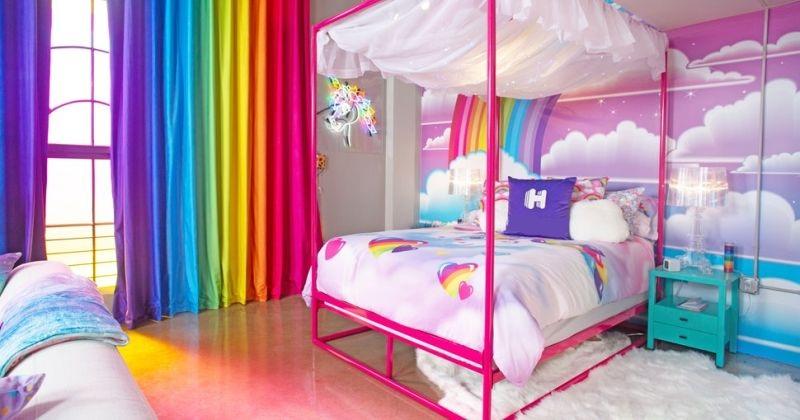 Rainbow childrens bedroom furniture