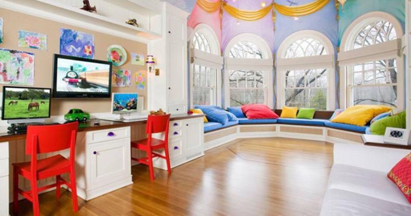 Rainbow child's room