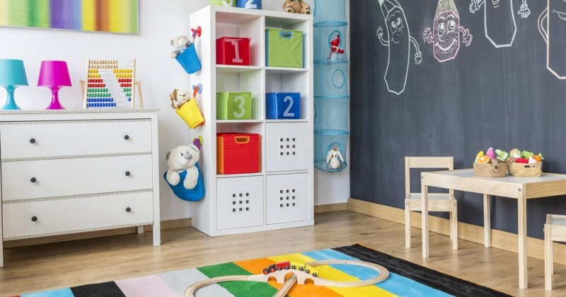 Rainbow room child design ideas