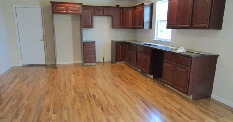 Red oak flooring stains