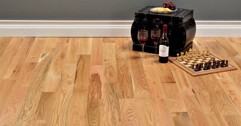 Red oak flooring unfinished